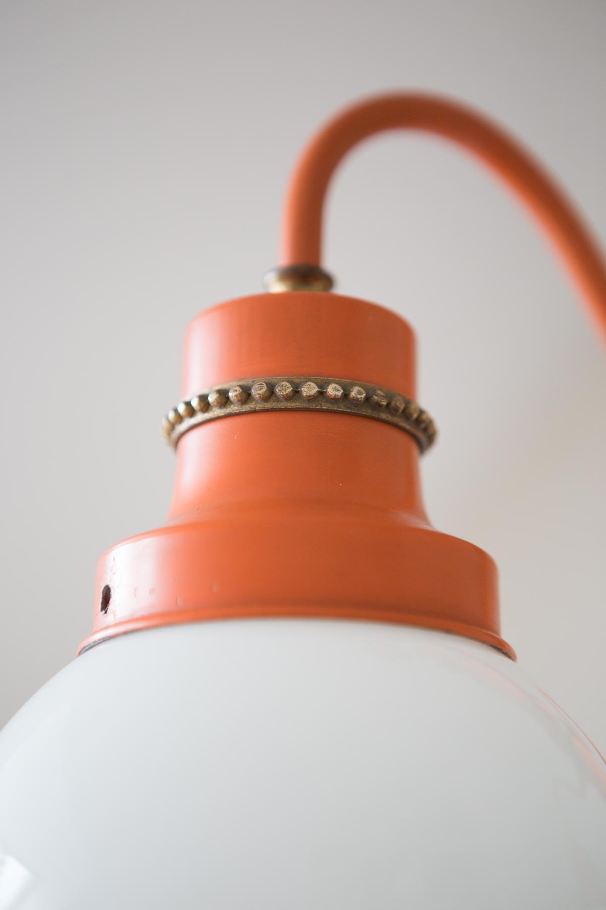 Lámpara techo años 70VENDIDAVintage Chic And naranja tCsrhQd