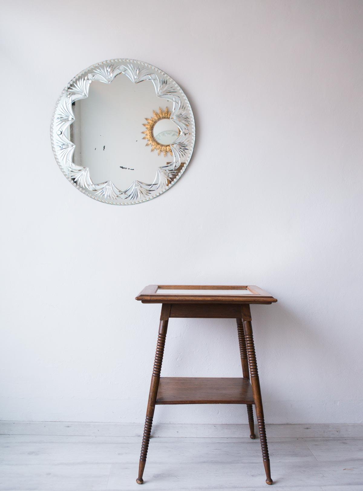 Antiguo espejo estilo veneciano ancien miroir style - Espejo veneciano antiguo ...